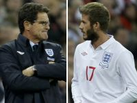 Capello comparó premio de Beckham con Nobel Obama