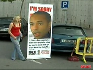 """Thierry Henry: """"No soy un tramposo"""""""