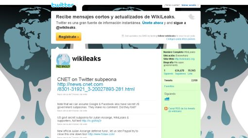 estados unidos, twitter, wikileaks