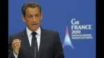 Nicolas Sarkozy, Amazon, París, Facebook, Google, Internet