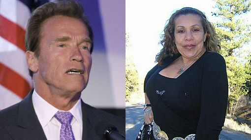 Cine, Arnold Schwarzenegger, Romances en Hollywood, María Shriver, Mildred Baena