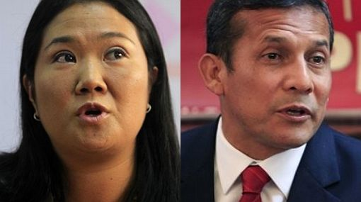 Keiko Fujimori, Ollanta Humala