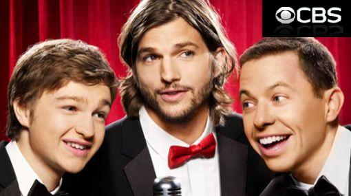 Ashton Kutcher, Jon Cryer, Angus Jones