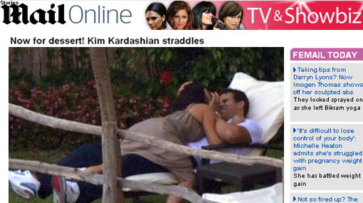 Kim Kardashian, Matrimonios de famosos, Kris Humphries